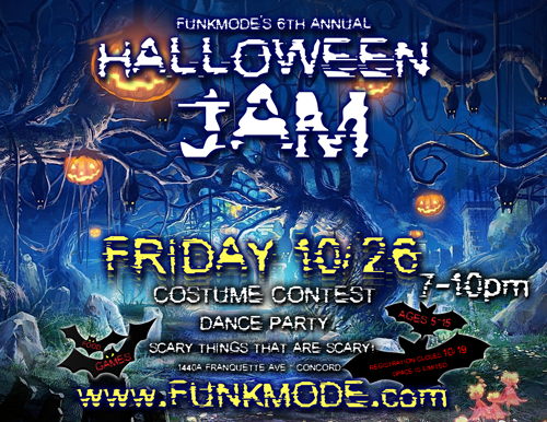 FUNKMODE Hip Hop Halloween Costume Dance Party Jam