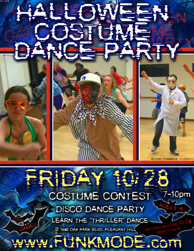 FUNKMODE Hip Hop Halloween Costume Dance Party