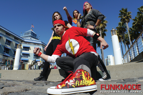 FUNKMODE Superheroes Promo Photo