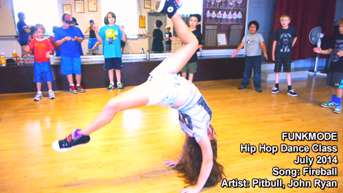 FUNKMODE Youth Hip Hop Dance Class Photo